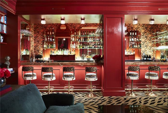 酒店餐吧设计-历史修复   国外豪华复古风精品酒店改造设计方案