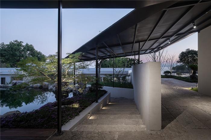 民宿景观设计-现代禅意山水   很成功的酒店民宿改造设计案例推荐