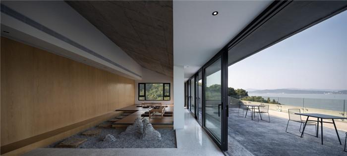 民宿茶室设计-现代禅意山水   很成功的酒店民宿改造设计案例推荐