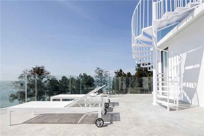 民宿露台设计-将海景尽收眼底的湄洲岛特色民宿改造设计方案