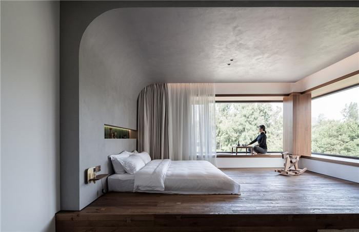民宿客房设计-将海景尽收眼底的湄洲岛特色民宿改造设计方案