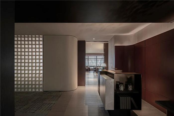 酒店餐厅接待台设计-颠覆传统的精品酒店设计推荐:ICON HOTEL酒店设计