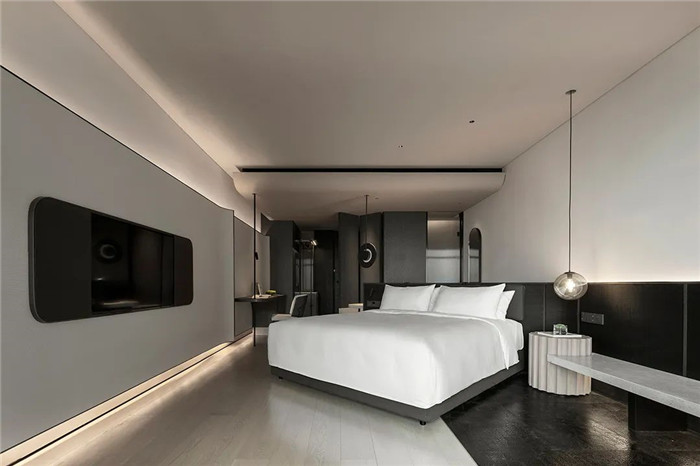 酒店标准客房设计-颠覆传统的精品酒店设计推荐:ICON HOTEL酒店设计