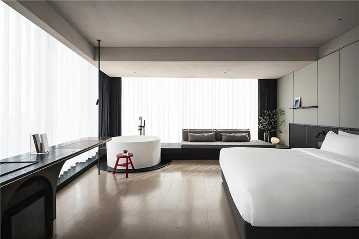 酒店大床房设计-颠覆传统的精品酒店设计推荐:ICON HOTEL酒店设计