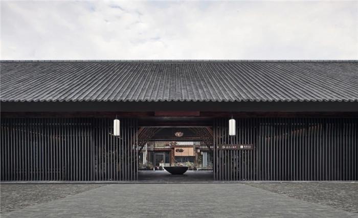酒店外观设计-以当地人文为主题的九华山禅居度假酒店设计方案