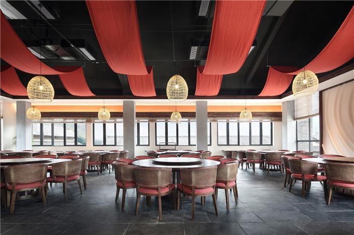 酒店餐厅设计-以当地人文为主题的九华山禅居度假酒店设计方案