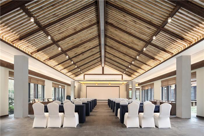 酒店会议厅设计-以当地人文为主题的九华山禅居度假酒店设计方案