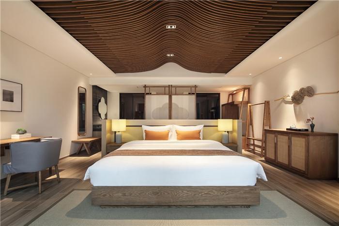 以当地人文为主题的九华山禅居度假酒店客房设计方案