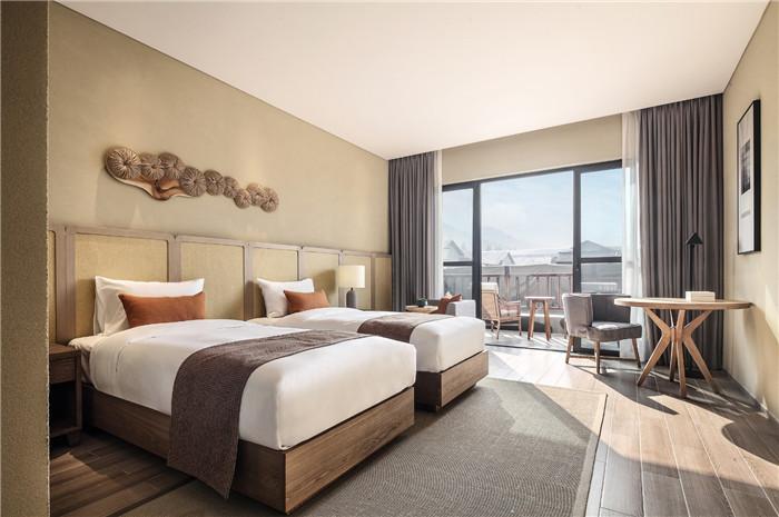 酒店客房设计-以当地人文为主题的九华山禅居度假酒店设计方案