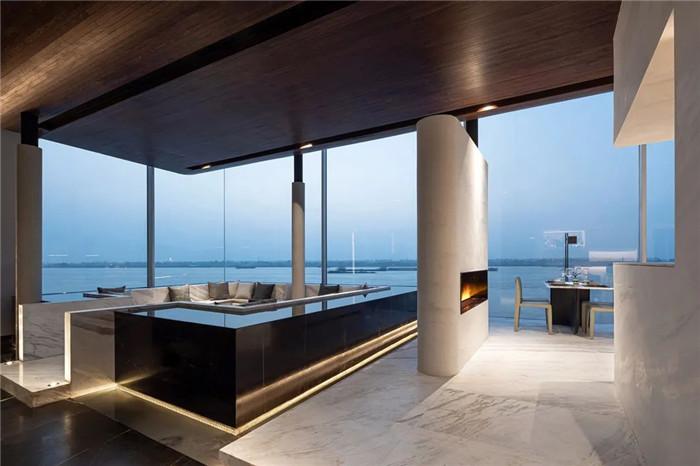 酒店休闲区设计-以邮轮帆船为灵感的泊乐艺术精品酒店设计案例