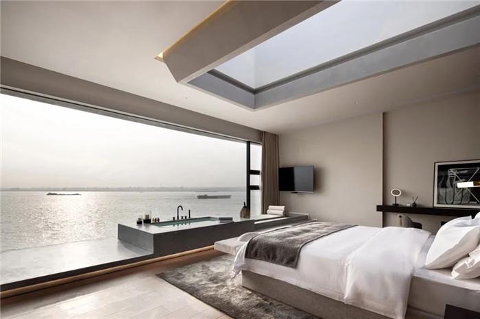 酒店大床房设计-以邮轮帆船为灵感的泊乐艺术精品酒店设计案例