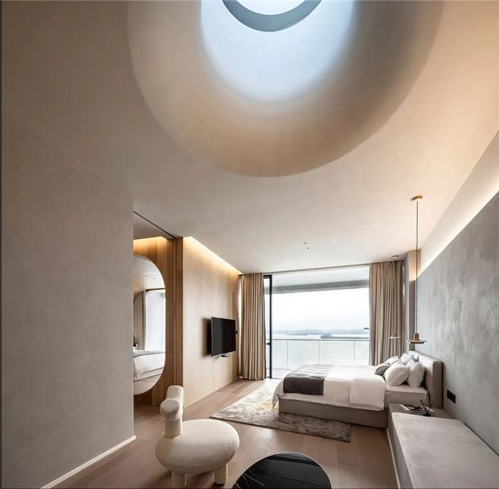 酒店亲子客房设计-以邮轮帆船为灵感的泊乐艺术精品酒店设计案例