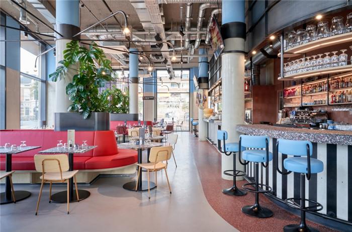 酒吧设计-贯彻循环环保设计的国外学子社区酒店设计方案