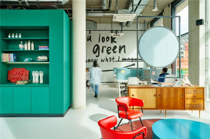 共享办公区设计-贯彻循环环保设计的国外学子社区酒店设计方案