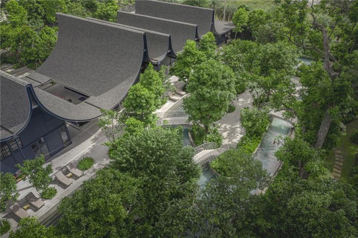 酒店景观设计-沉浸在奇妙自然中的仙境森林主题度假酒店设计案例