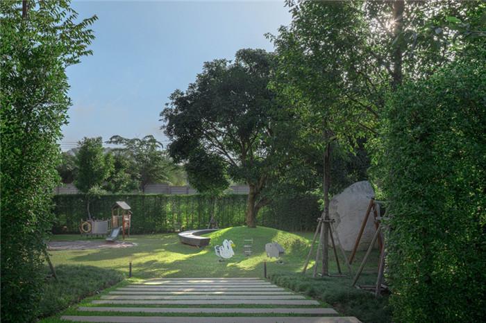度假村景观设计-沉浸在奇妙自然中的仙境森林主题度假酒店设计案例