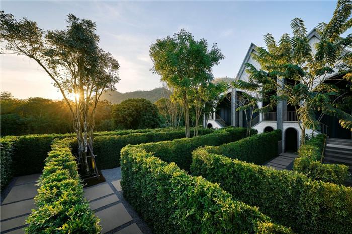 酒店迷宫设计-沉浸在奇妙自然中的仙境森林主题度假酒店设计案例