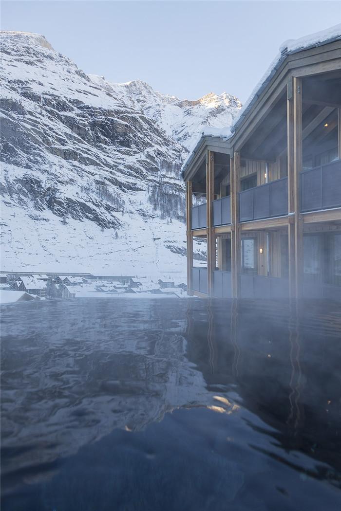 可持续理念下的滑雪场原生态度假酒店设计案例