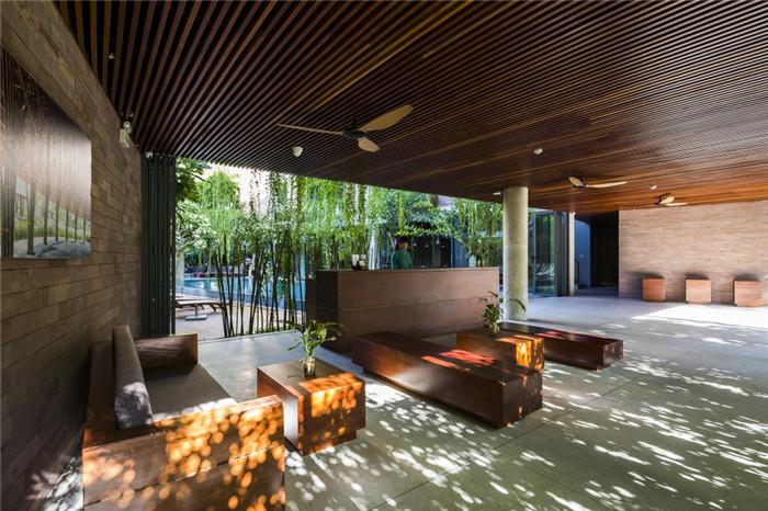 酒店大厅休闲区设计-连接人与自然的Atlas精品酒店设计方案