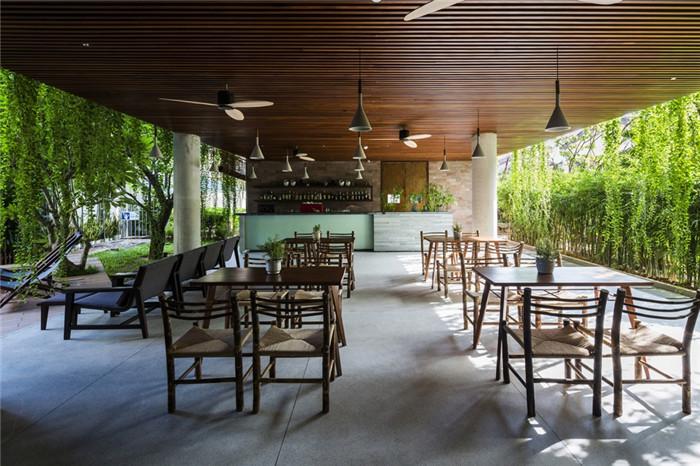 酒店餐厅设计-连接人与自然的Atlas精品酒店设计方案