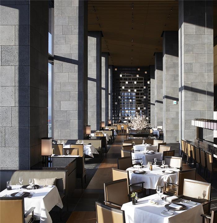 餐厅设计-专为休闲和商务游客而定制的东京安缦度假酒店设计