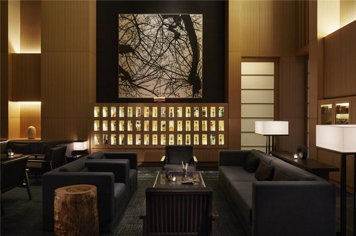 酒廊设计-专为休闲和商务游客而定制的东京安缦度假酒店设计