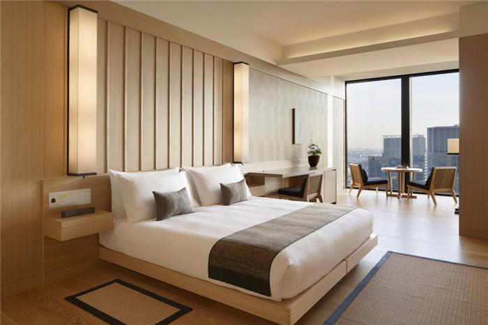 豪华套房设计-专为休闲和商务游客而定制的东京安缦度假酒店设计