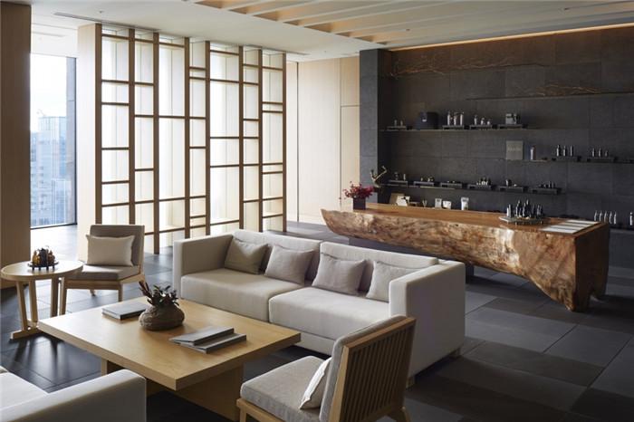 专为休闲和商务游客而定制的东京安缦度假酒店设计
