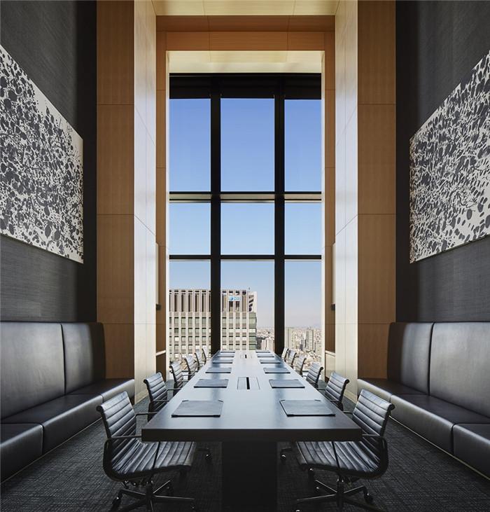 会议室设计-专为休闲和商务游客而定制的东京安缦度假酒店设计