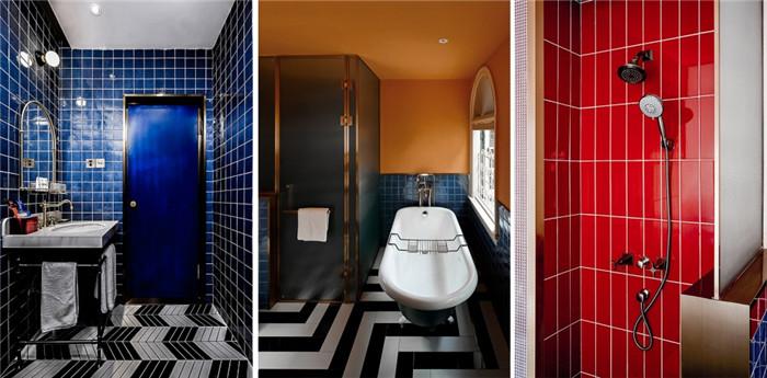 酒店客房卫生间设计-杭州ARTDECO复古风精品酒店改造设计方案