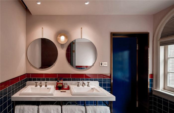 卫生间设计-杭州ARTDECO复古风精品酒店改造设计方案
