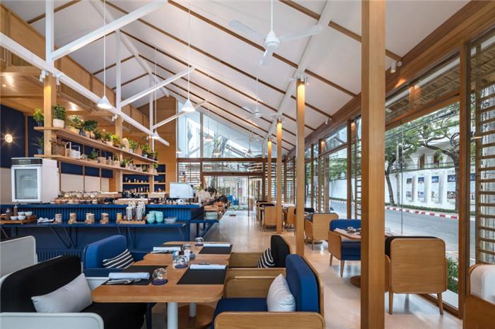 别具特色的泰国现代风庭院式度假酒店设计方案