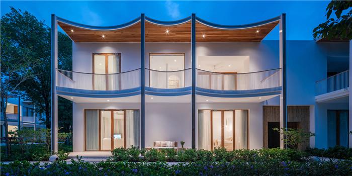 庭院式度假酒店设计