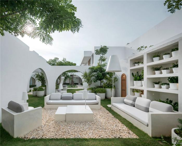 庭院度假酒店花园设计