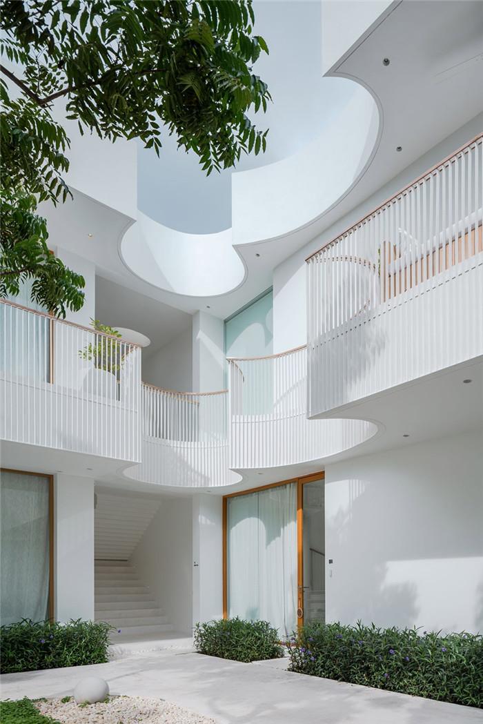 现代风特色度假酒店建筑设计