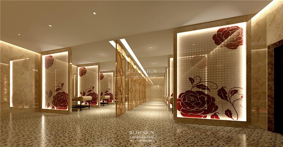 浴区设计-香格里拉假日温泉度假酒店设计方案