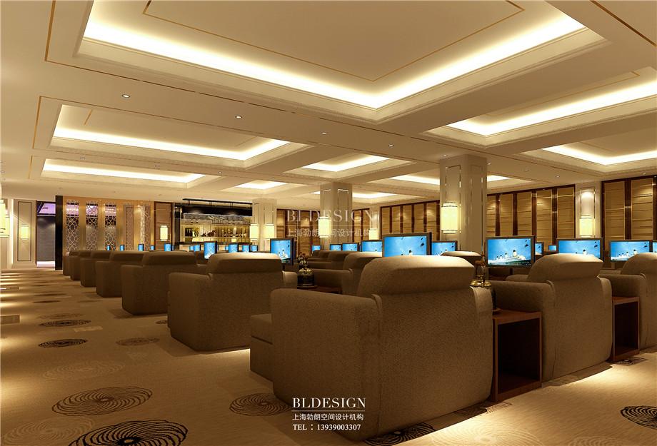 足浴大厅设计-香格里拉假日温泉度假酒店设计方案