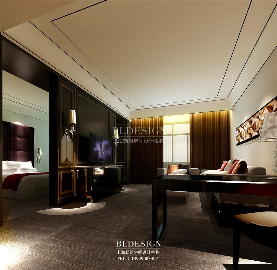 外观设计-香格里拉假日温泉度假酒店客房设计效果图