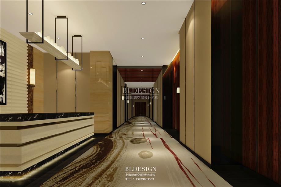 外观设计-香格里拉假日温泉度假酒店设计效果图