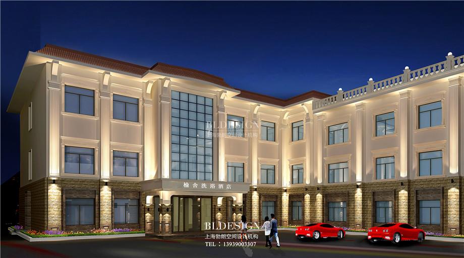 外观设计-郑州瑜舍温泉度假酒店设计方案