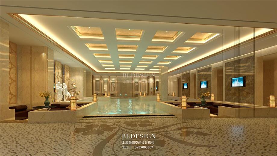 浴区设计-郑州瑜舍温泉度假酒店设计方案