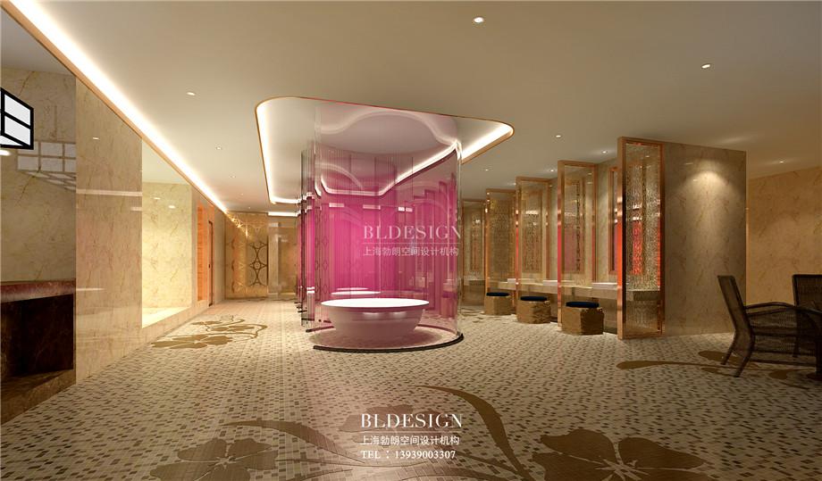 女浴区设计-郑州瑜舍温泉度假酒店设计方案