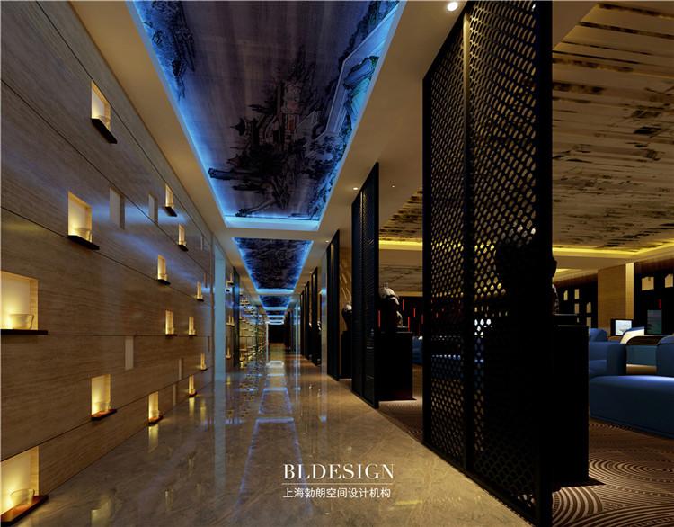 浴区设计-水浴海天温泉洗浴酒店设计方案