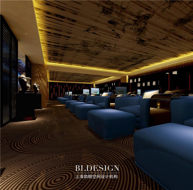 休息大厅设计-水浴海天温泉洗浴酒店设计方案