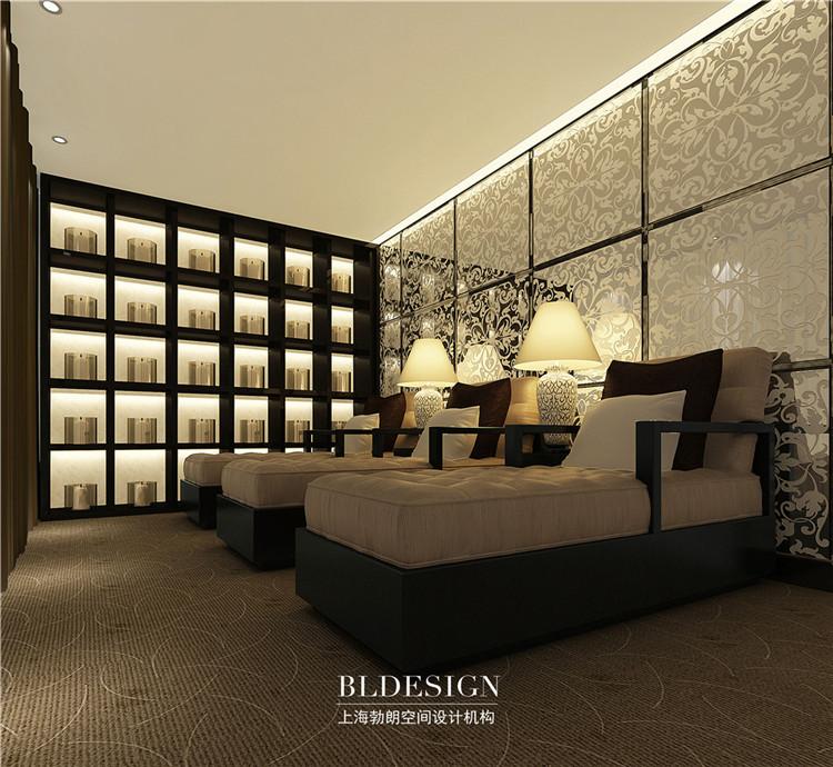 客房设计-水浴海天温泉洗浴酒店设计方案