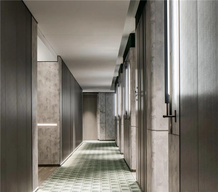 酒店走廊设计-以城市文化为蓝本的英威斯顿精品酒店设计案例