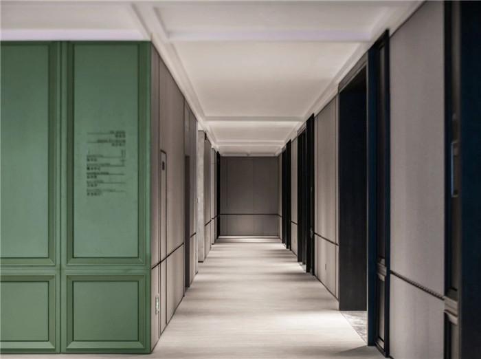 酒店客房走廊设计-以城市文化为蓝本的英威斯顿精品酒店设计案例