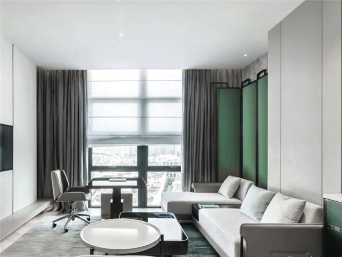 酒店套房客厅设计-以城市文化为蓝本的英威斯顿精品酒店设计案例