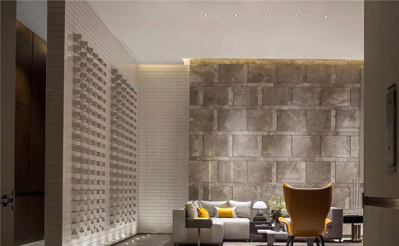 大厅休闲区设计-三亚现代中式洛克港湾五星级度假酒店设计案例