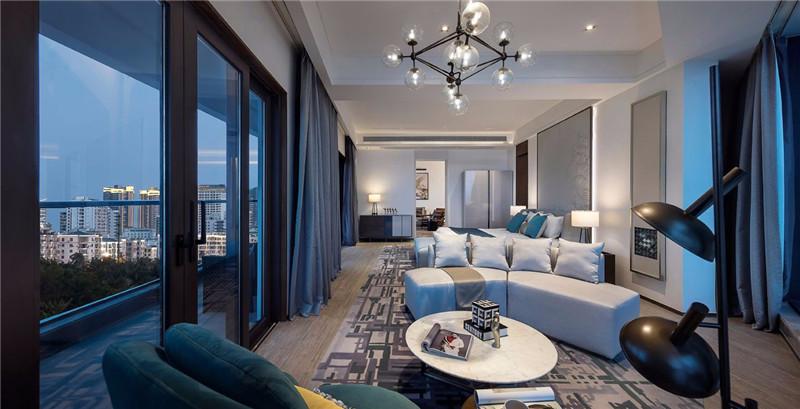 酒店客房设计-三亚现代中式洛克港湾五星级度假酒店设计案例